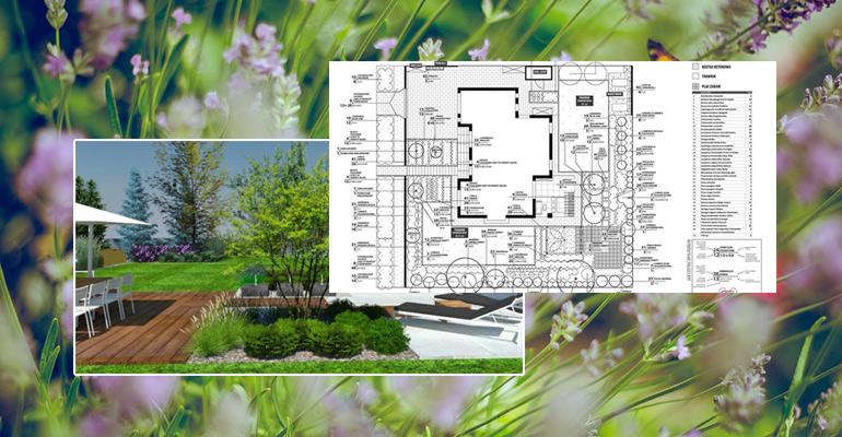 Składniki profesjonalnego projektu ogrodu