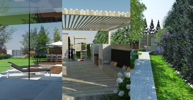 Projekty nowoczesnych ogrodów