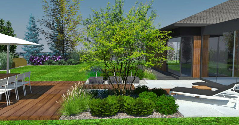Cennik wykonania projektu ogrodu