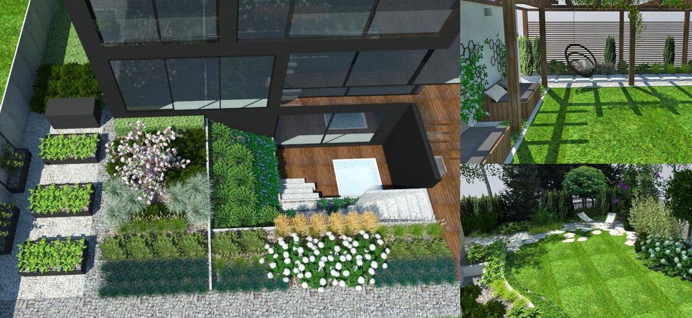 Wizualizacja ogrodu