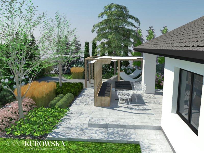 Wizualizacja prywatnego ogrodu