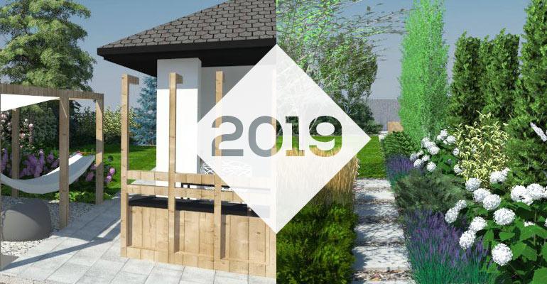 Projektowanie ogrodów w 2019 roku